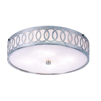 Walpole Flush Mount by TransGlobe Lighting