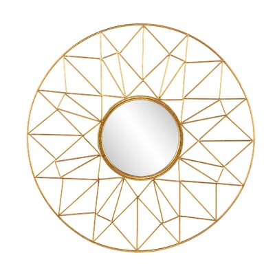 Burney Round Decorative Wall Mirror by Wildon Home ®