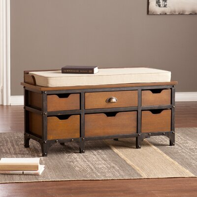 Paola Wood Storage Bench by Wildon Home ®