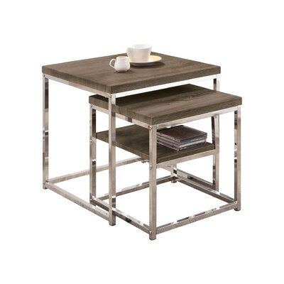 2 Piece Nesting Tables by Wildon Home ®