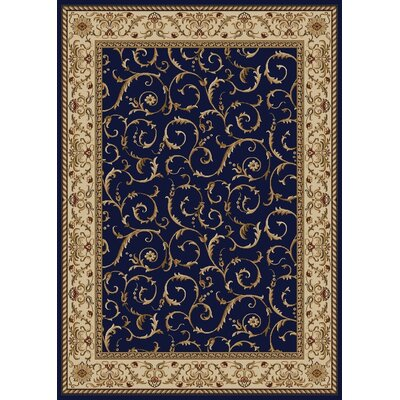 Cosi Navy Area Rug by Wildon Home ®