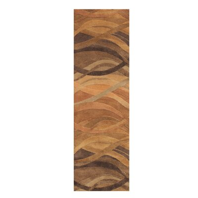 African Hand-Tufted Beige Area Rug by Wildon Home ®
