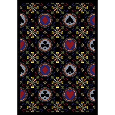 Caliope Black Area Rug by Wildon Home ®
