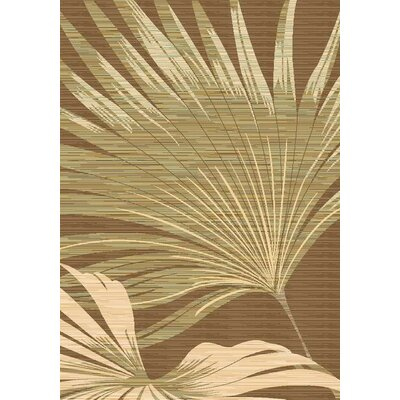 Connee Ivory/Brown Area Rug by Wildon Home ®