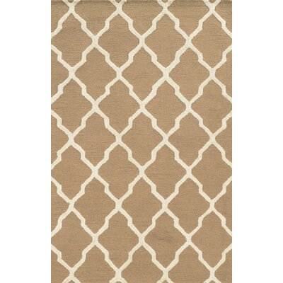 Agnetta Hand-Tufted Beige Area Rug by Wildon Home ®