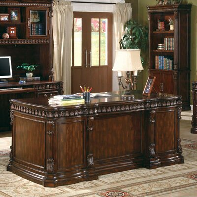 Corning Executive Desk with Drawers by Wildon Home ®