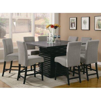 Wildon Home ® Brownville 9 Piece Dining Set