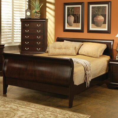 St. Paul Sleigh Bed by Wildon Home ®