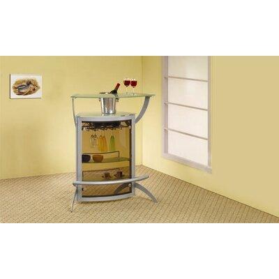 Wildon Home ® Knox Mini Bar with Wine Storage