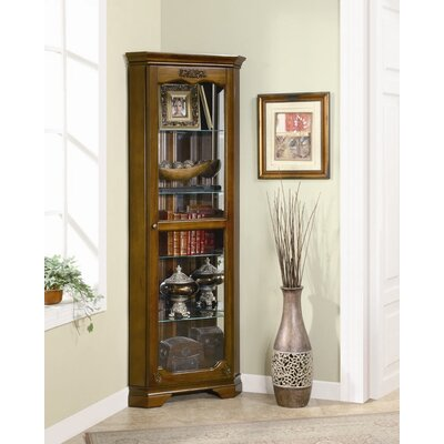 Eliot Corner Curio Cabinet by Wildon Home ®