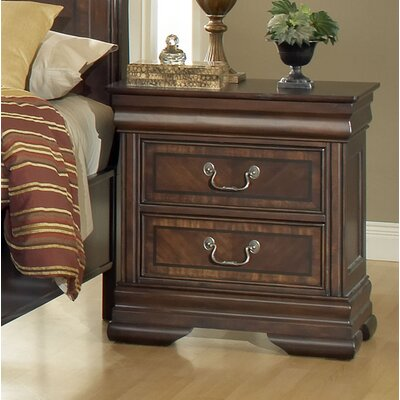 Wildon Home ® Hennessy 2 Drawer Nightstand