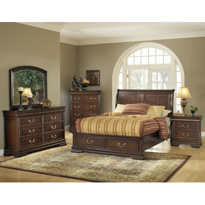 Hennessy Sleigh Customizable Bedroom Set by Wildon Home ®