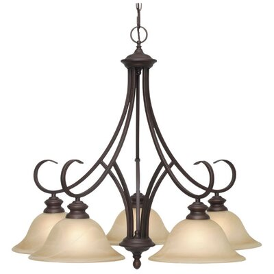 Emory 5 Light Nook Chandelier Product Photo