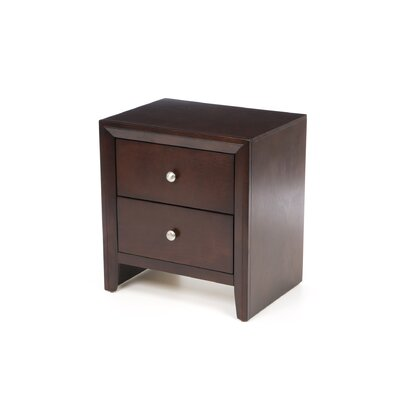 Detroit 2 Drawer Nightstand by Wildon Home ®