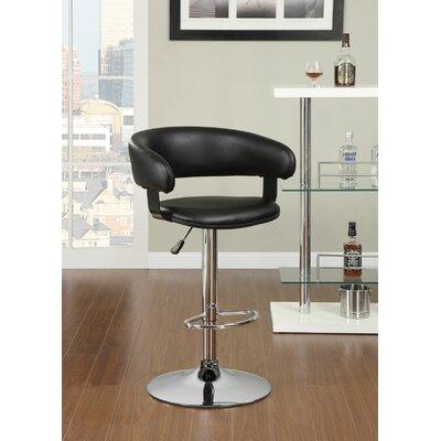 Wildon Home ® Adjustable Height Swivel Bar Stool with Cushion