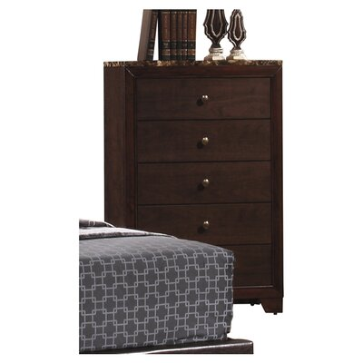 Annetta South 5 Drawer Chest by Wildon Home ®