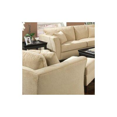 Wildon Home ® Cumberland Grove Velvet Chair and Ottoman