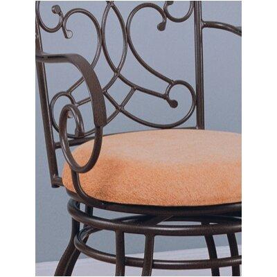 "Wildon Home ® Belknap Springs 24"" Swivel Bar Stool with Cushion"