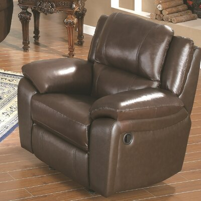 Baxtor Leather Recliner by Wildon Home ®
