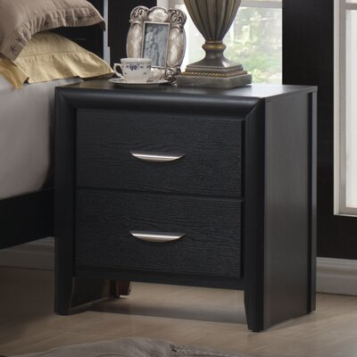 Monet 2 Drawer Nightstand by Wildon Home ®