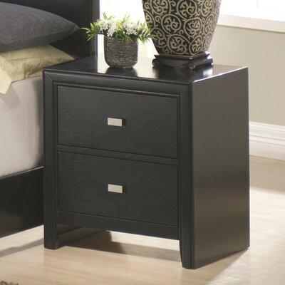Kaspa 2 Drawer Nightstand by Wildon Home ®