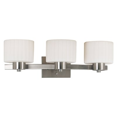 Newport 3 Light Vanity Light Product Photo