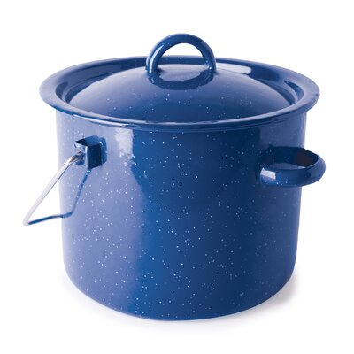 Cast Steel 3.2-qt. Straight Pot with Lid by Stansport