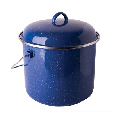 Cast Steel 7-qt. Straight Pot with Lid by Stansport