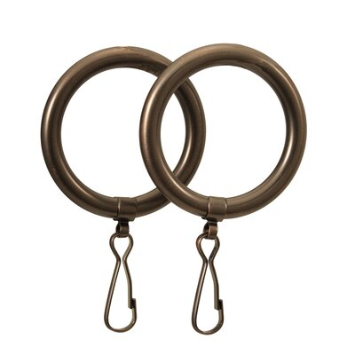 Gatco Marina Shower Curtain Rings in Oil Rubbed Bronze