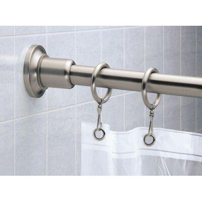 Gatco Marina 6' Shower Rod in Satin Nickel
