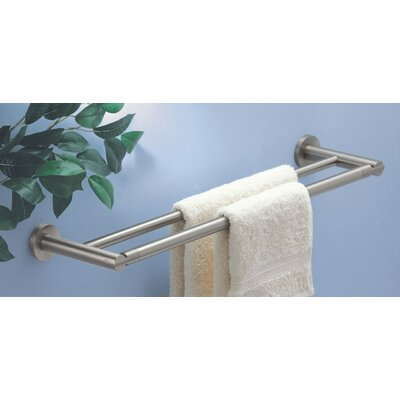 "Gatco Channel 24"" Wall Mounted Double Towel Bar"
