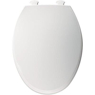 Bemis Easy Clean Plastic Elongated Toilet Seat