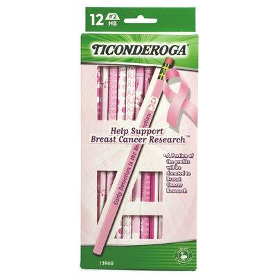 Ticonderoga Help Support Breast Cancer Research Pencil