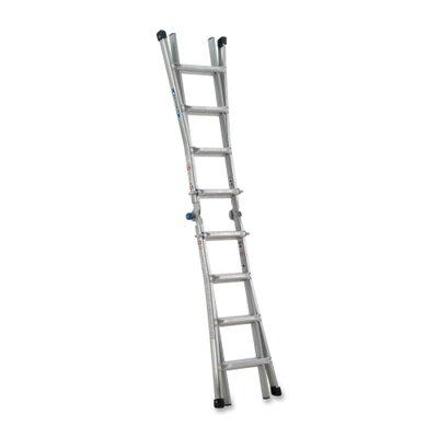 Werner 17 ft Aluminum Telescoping Multi-Position Ladder