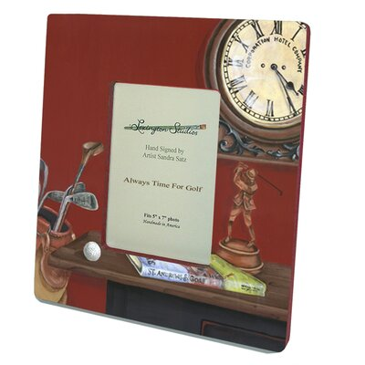 Lexington Studios Sport Always Time For Golf Large Picture Frame