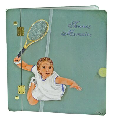 Sport The Serve Large Book Photo Album by Lexington Studios