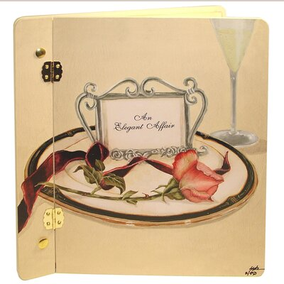 Wedding Table 4 Two Rose Book Photo Album by Lexington Studios