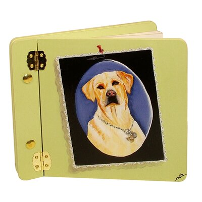Animals Yellow Lab Mini Book Photo Album by Lexington Studios
