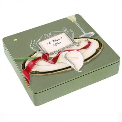 Lexington Studios Table 4 Two Lilly Decorative Storage Box  in Green