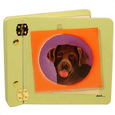 Animals Chocolate Lab Mini Book Photo Album by Lexington Studios