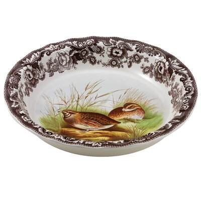 Woodland Quail Pie Dish by Spode