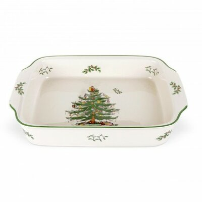 Rectangular Handled Dish by Spode