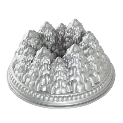 Platinum Pine Forest Bundt Pan by Nordic Ware