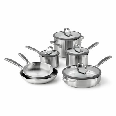 Easy System 10-Piece Cookware Set by Calphalon