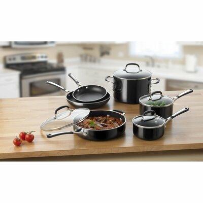 Calphalon Simply Enamel 10 Piece Cookware Set