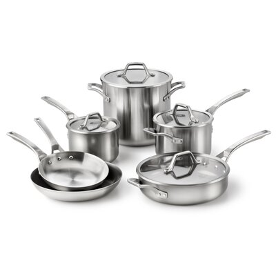 AcCuCore 10-Piece Cookware Set by Calphalon