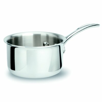 Tri-Ply Stainless Steel 1-qt. Saucepan by Calphalon