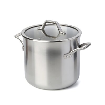 AcCuCore 8 Qt. Stock Pot with Lid by Calphalon