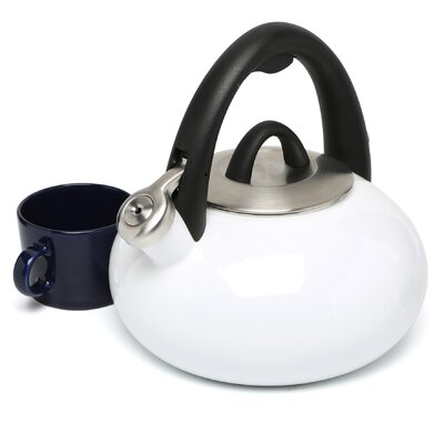 Calphalon Accessories 2-qt. Enamel Tea Kettle