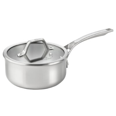 AcCuCore 2.5-qt. Shallow Saucepan with Lid by Calphalon